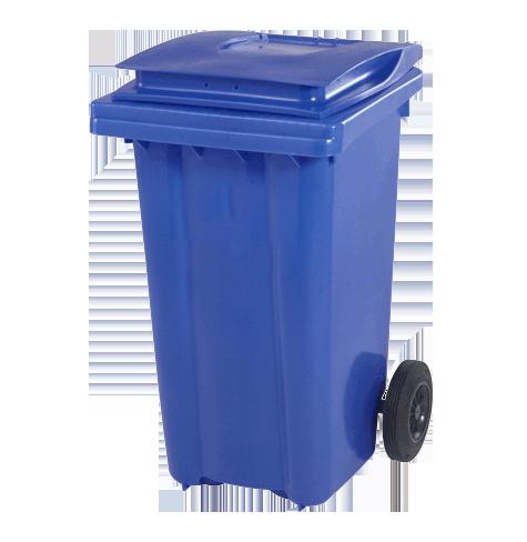 سطل زباله پلی اتیلن چرخدار