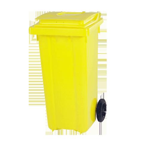سطل زباله پلاستیکی چرخدار 4