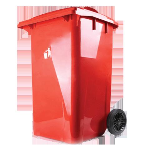 سطل زباله پلاستیکی پدالدار