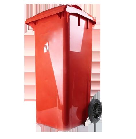 سطل زباله پلی اتیلن دربدار