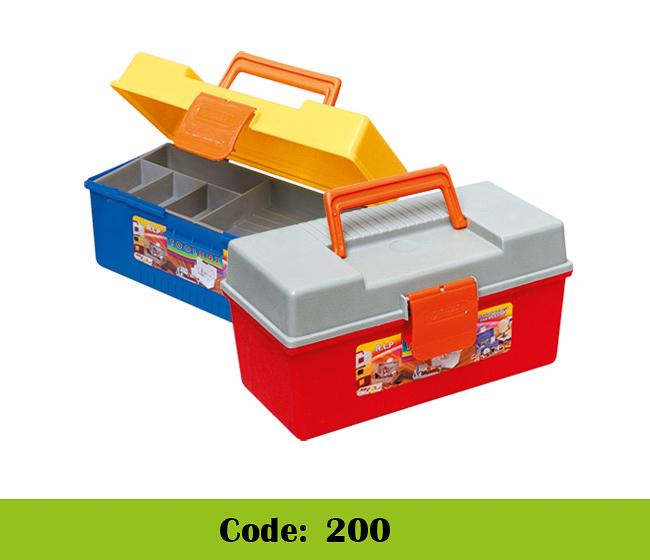 جعبه ابزار پلاستیکی 2