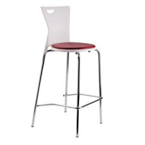 صندلی بار پایه بلند پلاستیکی 1