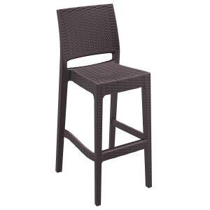 صندلی پایه بلند پلاستیکی