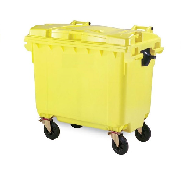 سطل زباله شهری 669 لیتری | مخزن زباله شهری
