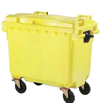 سطل زباله شهری 660 لیتری-آستیاگ