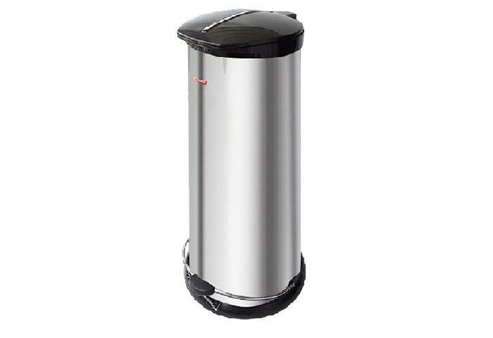 سطل زباله اداری استیل 20 لیتری