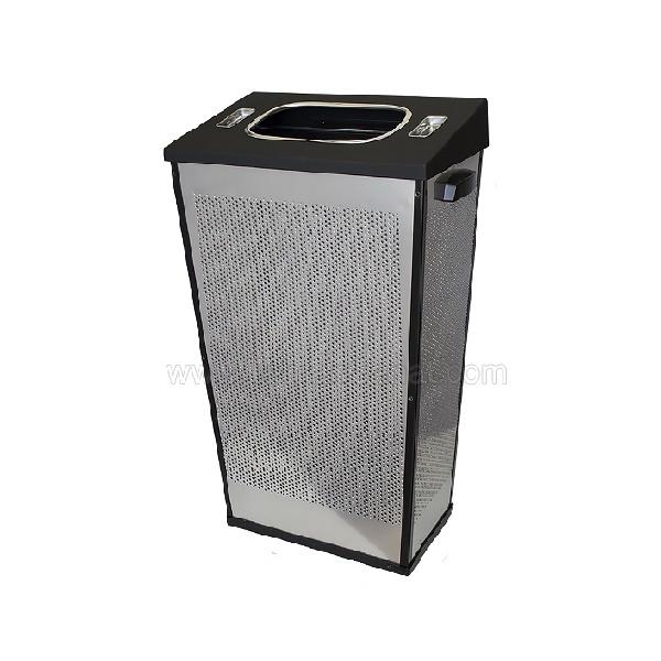 سطل زباله اداری استیل 30 لیتری