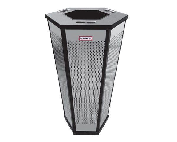 سطل زباله اداری 30 لیتری شش گوش