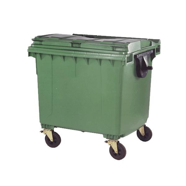 سطل زباله شهری 1100 لیتری