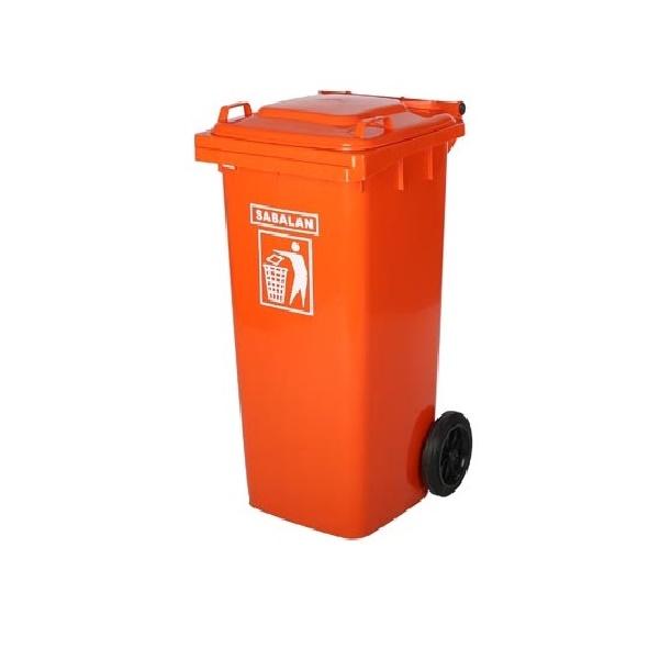 سطل زباله پلاستیکی 120 لیتری | سطل زباله پلی اتیلن