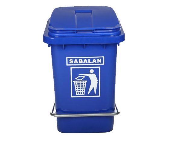 سطل زباله پلاستیکی 20 لیتری پدال دار | سطل زباله پلی اتیلن