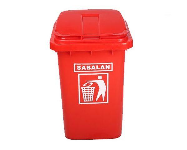 سطل زباله پلاستیکی 40 لیتری | سطل زباله پلی اتیلن