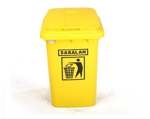 سطل زباله پلاستیکی 60 لیتری | سطل زباله پلی اتیلن