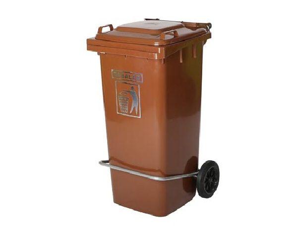 سطل زباله 240 لیتری پدالی