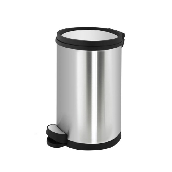 سطل زباله استیل 30 لیتری با درب ارام بند