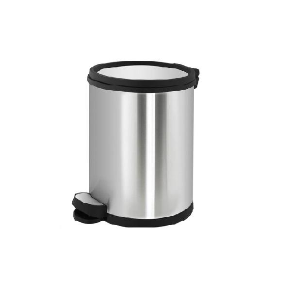 سطل زباله استیل 5 لیتری با درب ارام بند